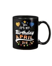 April 3rd Birthday Gift T-Shirts Mug thumbnail