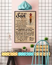 TO MY SON 11x17 Poster lifestyle-poster-6