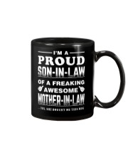 PROUD SON-IN-LAW - MOTHER-IN-LAW Mug tile