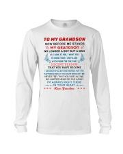 To My Grandson Long Sleeve Tee tile