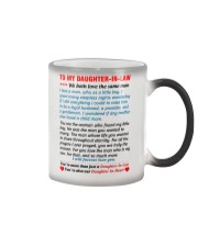 To My Daughter-In-Law Color Changing Mug thumbnail