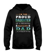 Im The Proud Daughter - Dad Hooded Sweatshirt thumbnail