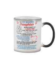 To My Beloved Daughter Color Changing Mug thumbnail