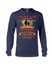 TO MY SON - DAD Long Sleeve Tee thumbnail