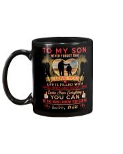 TO MY SON - DAD Mug back