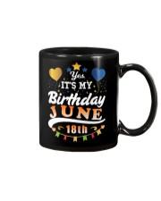 June 18th Birthday Gift T-Shirts Mug thumbnail