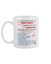 To My Mother Mug back
