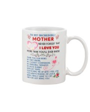 To My Mother Mug front