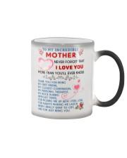 To My Mother Color Changing Mug thumbnail