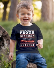 Proud Grandson - Grandma Youth T-Shirt lifestyle-youth-tshirt-front-4