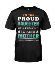 Im The Proud Daughter - Mother Classic T-Shirt thumbnail