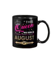 This Queen Was Born On 14TH Mug thumbnail