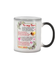 To My Son Color Changing Mug tile