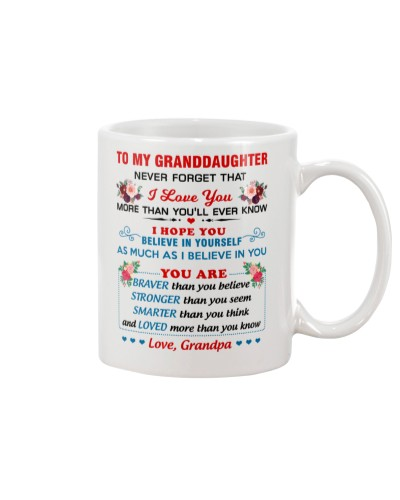 To My Granddaughter - Grandpa