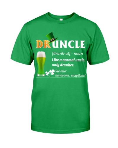 ST Patrick's Day - Druncle