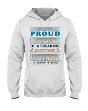 Mother - To My Son Hooded Sweatshirt thumbnail