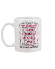 To My Granddaughter Grandma Mug back