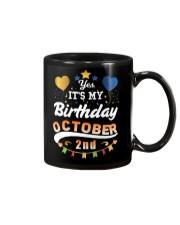 October 2nd Birthday Gift T-Shirts Mug thumbnail