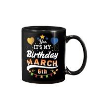March 6th Birthday Gift T-Shirts Mug tile