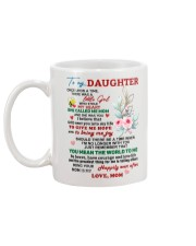 Mom love Daughter Mug Mug back