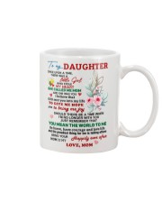 Mom love Daughter Mug Mug front