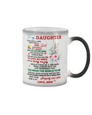 Mom love Daughter Mug Color Changing Mug tile