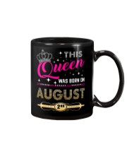 This Queen Was Born On 2ND Mug thumbnail