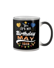 May 15th Birthday Gift T-Shirts Color Changing Mug tile