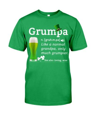 ST Patrick's Day - Grumpa