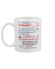 To My Granddaughter - Grandpa Mug back