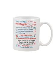To My Granddaughter - Grandpa Mug front