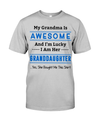 My Grandma  is Awesome - Granddaughter