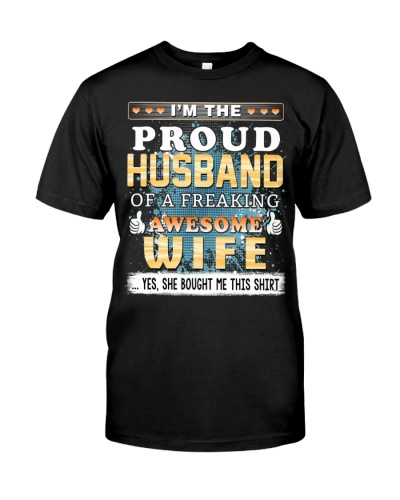 Proud Husband - Wife