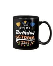 October 22nd Birthday Gift T-Shirts Mug thumbnail