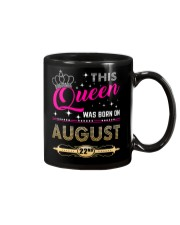 This Queen Was Born On 22ND Mug thumbnail