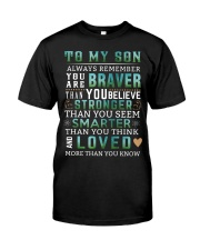 To My Son Classic T-Shirt thumbnail