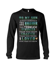 To My Son Long Sleeve Tee thumbnail