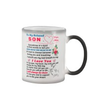 To My Son Color Changing Mug thumbnail
