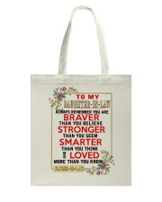 TO MY DAUGHTER-IN-LAW - DAD Tote Bag thumbnail