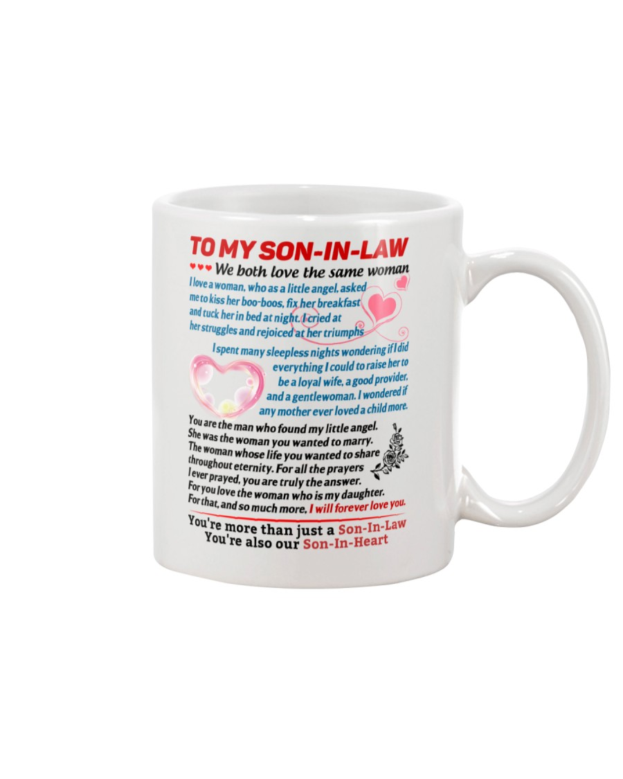 To My Son-In-Law Mug
