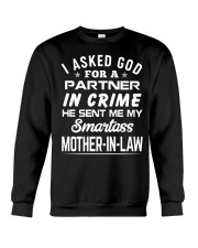Smartass Mother-In-Law Crewneck Sweatshirt thumbnail