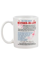 To My Mother-In-Law Mug back