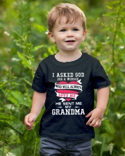 Grandma Always Love Me Youth T-Shirt lifestyle-youth-tshirt-front-3