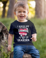 Grandma Always Love Me Youth T-Shirt lifestyle-youth-tshirt-front-4