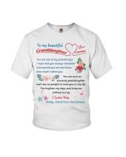 To My Beautiful Granddaughter Youth T-Shirt thumbnail