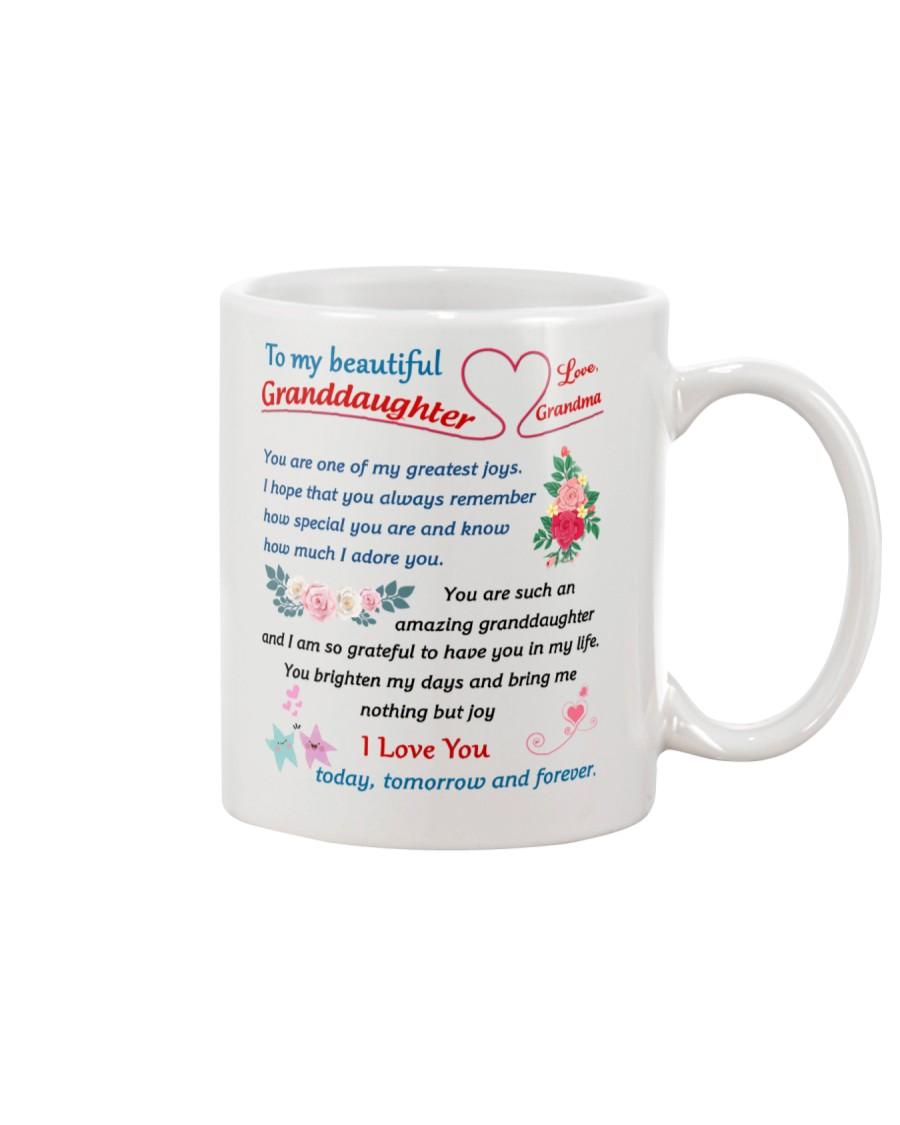 To My Beautiful Granddaughter Mug
