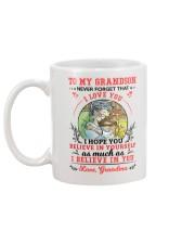 TO MY GRANDSON Mug back