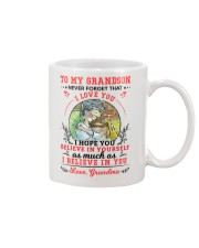 TO MY GRANDSON Mug front