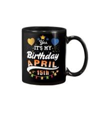 April 15th Birthday Gift T-Shirts Mug thumbnail