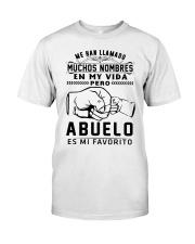 ABUEIO ES MI FAVORITO Classic T-Shirt front
